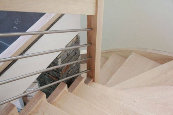 Escalier contemporain Haute-Savoie Savoie