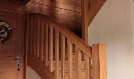 Escalier tradition Savoie