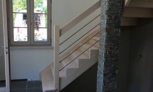 Escalier tradition Haute-Savoie