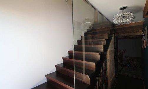 escalier avec contre marche
