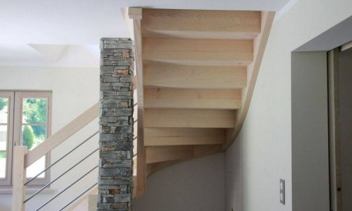 Escalier contemporain Savoie