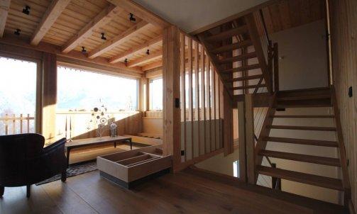 Escalier contemporain Sallanches