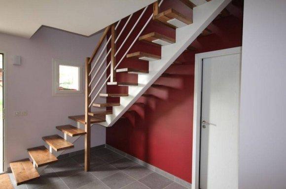 Escalier tradition sur mesure Haute-Savoie Savoie