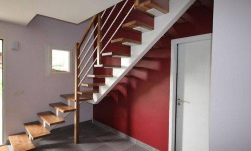 Escalier contemporain Haute-Savoie